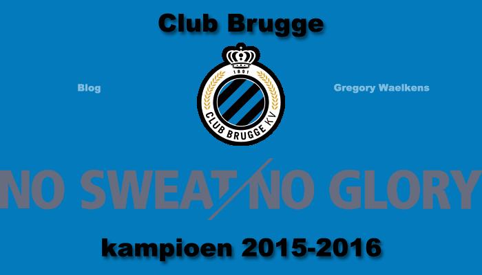 Club Brugge kampioen