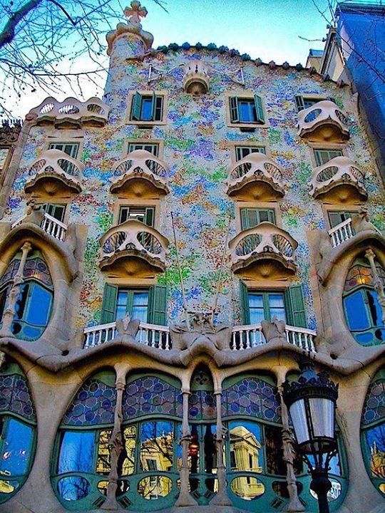 Stijl Van Gaudi.Antoni Gaudi Blog Gregory Waelkens